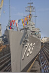 Ship at Charlestown Navy Yard