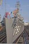 Ship at Charlestown Navy Yard