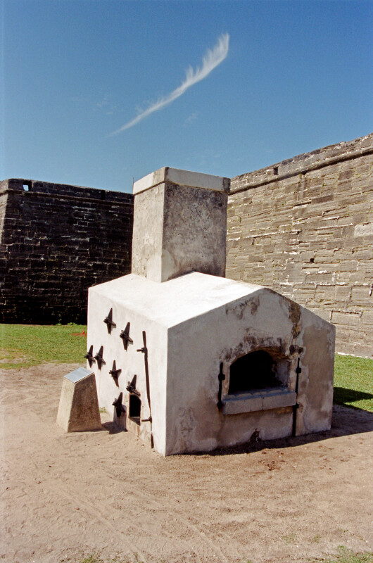 Shot Furnace at Castillo de San Marcos
