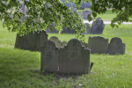 Shouldered Tablet Headstones in Groups