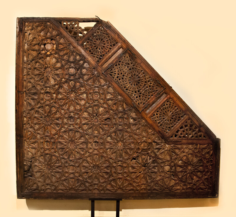 Side of a Minbar from the 14th Century