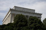 Side of Lincoln Memorial