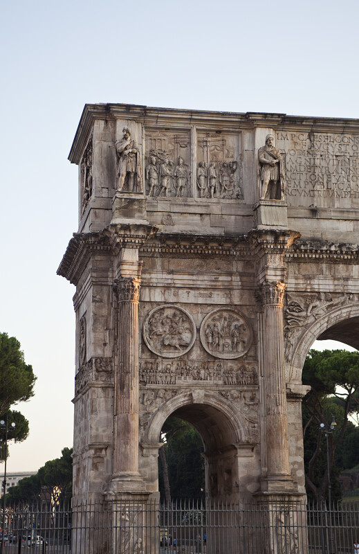 Side of the Arch of Constantine