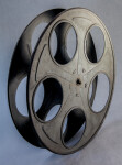 Side View of a Film Reel