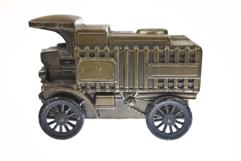 Side View of Antique Truck Bank