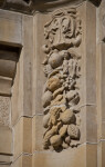 Side View of Relief at Soldiers and Sailors' Memorial Hall