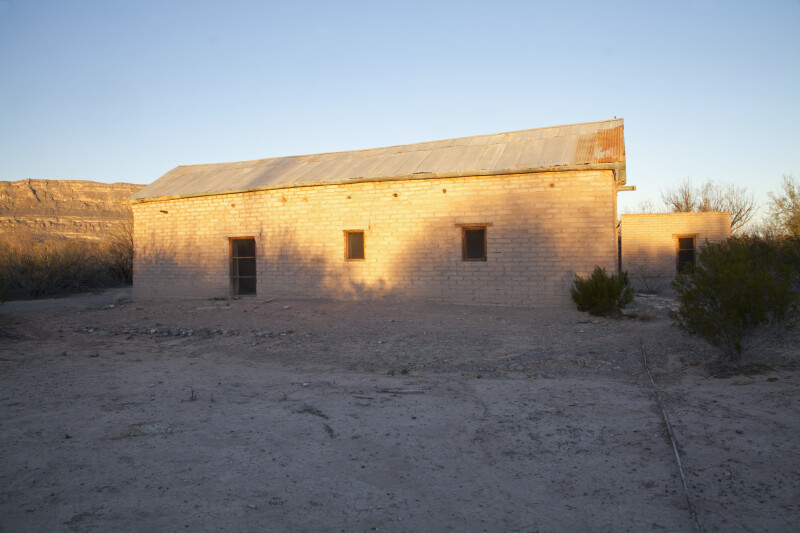 Side View of the Old Castolon Store