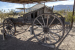 Side View of the Wagon Near the Castolon Store