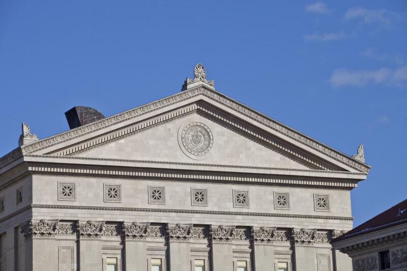 University of Pittsburgh Alumni Hall Pediment