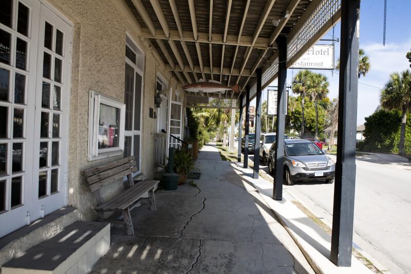 Sidewalk by Hotel
