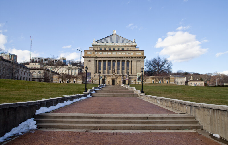 Sidewalk Leading to Soliders and Sailors' Memorial Hall