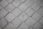 Sidewalk with Repeating Pattern in Kusadasi, Turkey