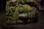 Sideways Head of Medusa at the Basilica Cistern