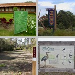 Signs at Parks photographs