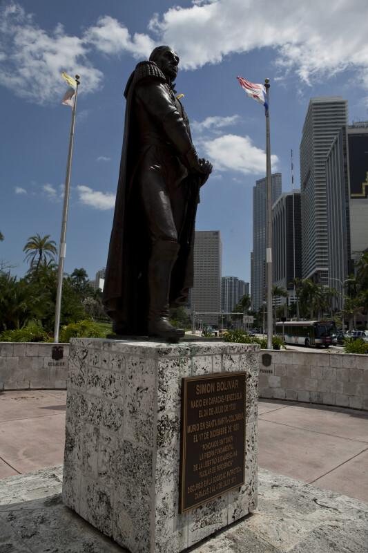 Simon Bolivar Statue