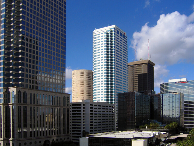 Skyscrapers in Tampa
