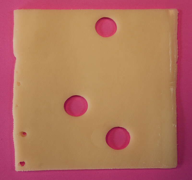 Slice of Swiss Cheese