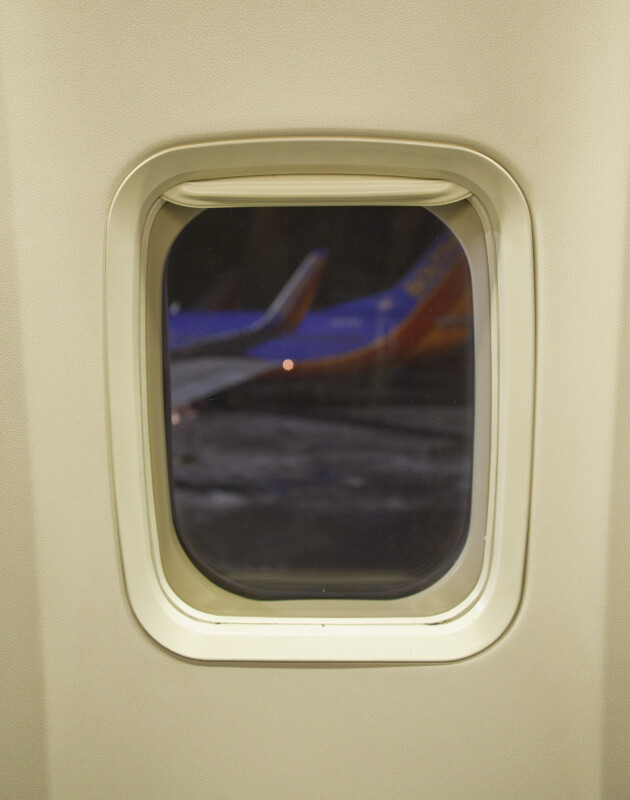 Small Airplane Window