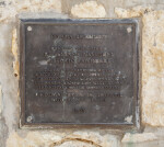 Small Commemorative Plaque at the Espada Acequia
