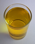Small Glass of Apple Juice