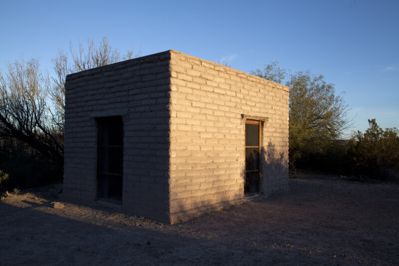 Small Storage Building Outside of Castolon Store
