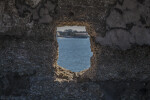 Small Window Cut into the Bartizan on the Southeast Corner of Castillo de San Marcos