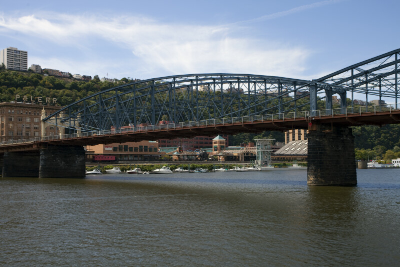 Smithfield Street Bridge Crossing the Monongahela River
