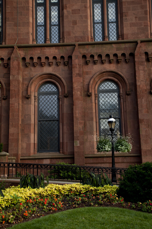 Smithsonian Castle Windows