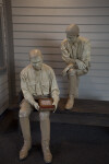 Soldiers and Bench