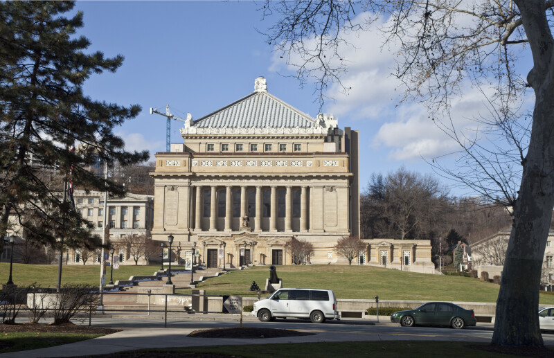 Soldiers and Sailors' Memorial Hall, From a Distance