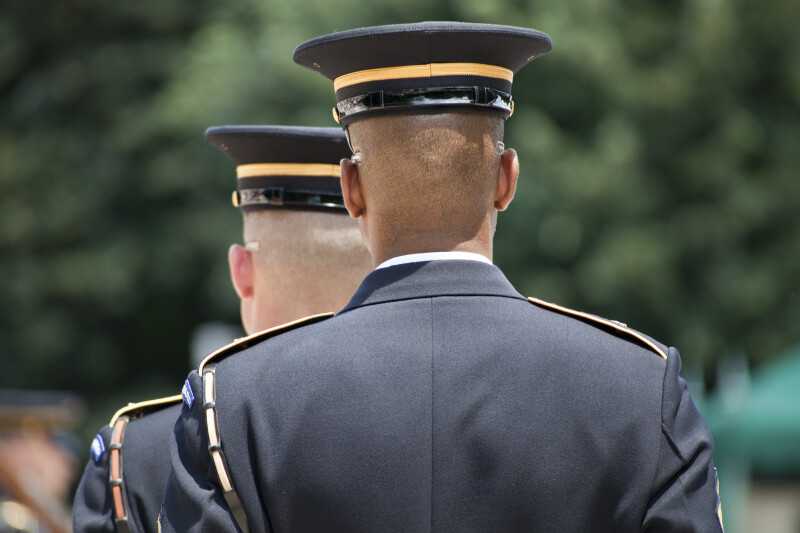 Soldiers Guarding Tomb of the Unknown Soldier