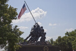 Soldiers Raising Flag