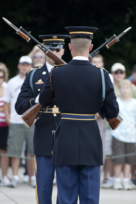 Soldiers with Rifles