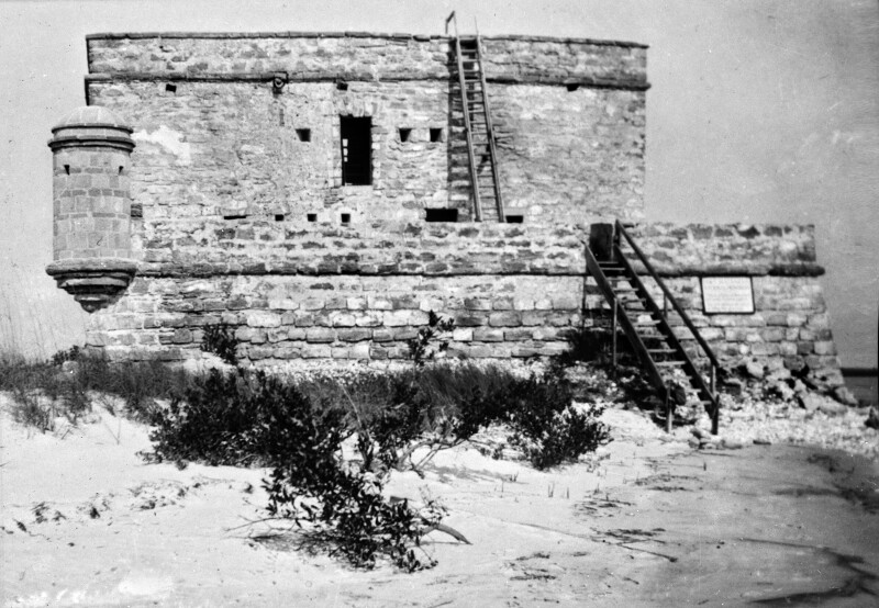 South View of Fort Matanzas