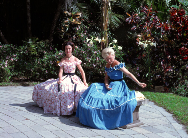 Southern Belles on Bench