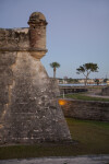 Southwest Corner of Castillo de San Marcos Close-Up