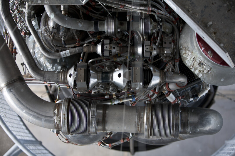 Space Shuttle Engine Detail