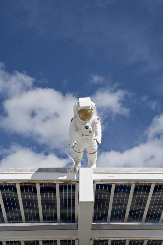 Space Suit and Sky