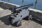 "Spanish 6-Pounder, Modern, Iron Gun Cannon Called, ""La Revanchist"""