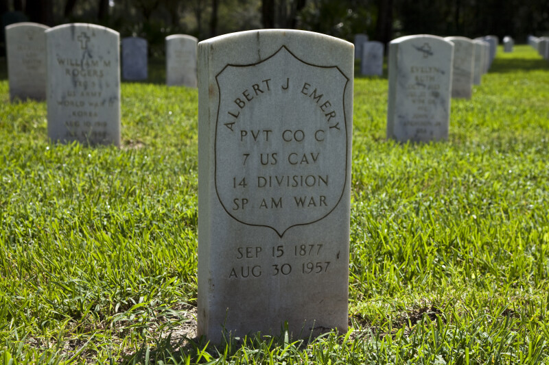 Spanish-American War Grave