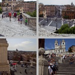 Spanish Steps photographs