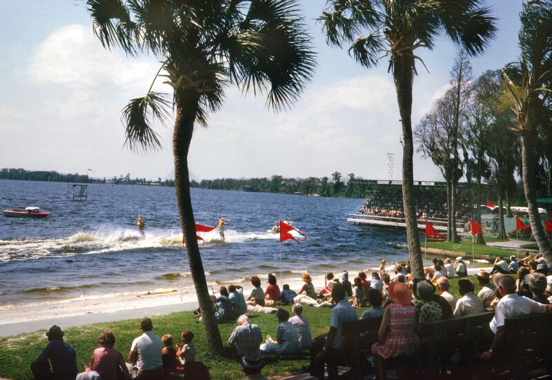 Spectators at Cypress Gardens
