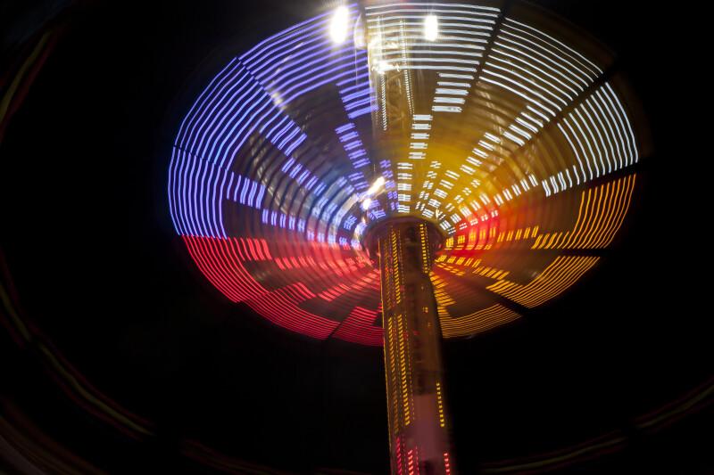Spinning Lights