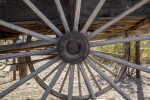 Spokes of a Wagon Wheel Near Castolon Store