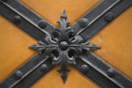 Square Door Decoration at New Town Hall