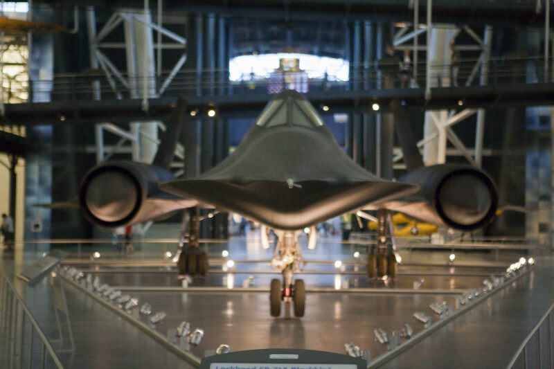 SR-71 Blackbird Tip