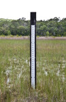 Staff Gauge at May's Prairie