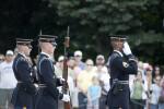 Staff Sergeant Saluting
