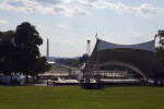 Stage by National Mall