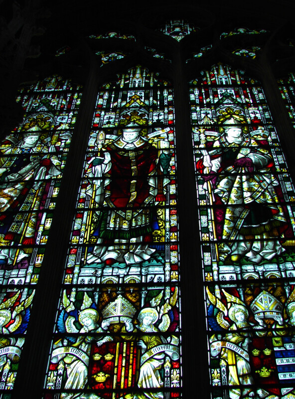 Stained Glass at the Ely Cathedral